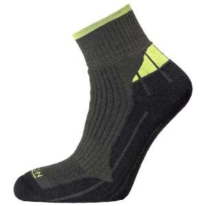 Horizon Coolmax Quarter Sock Charcoal