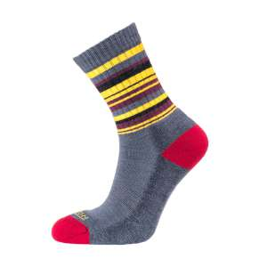Horizon Womens Micro Crew Sock Grey/Am