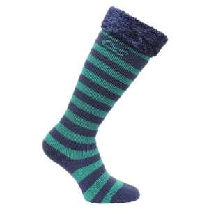 Regatta Kids Fur Collar Welly Socks Ga