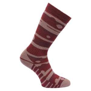 Regatta Womens Wellington Socks Dk Pim
