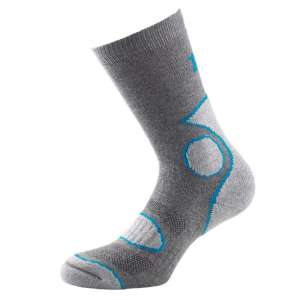 1000 Mile 2 Season Walk Sock Grey/Blue