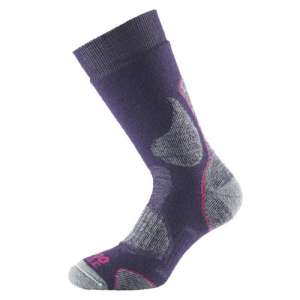 1000 Mile 3 Season Walk Sock Grey/Purp