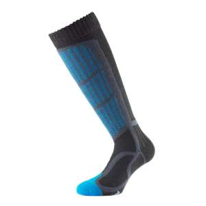 1000 Mile Ski Sock Kingfisher Blue