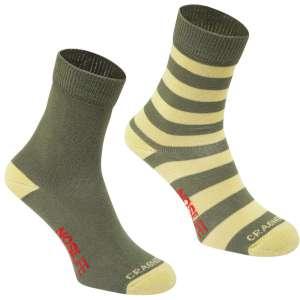 Craghoppers NosiLife Travel Socks 2PK