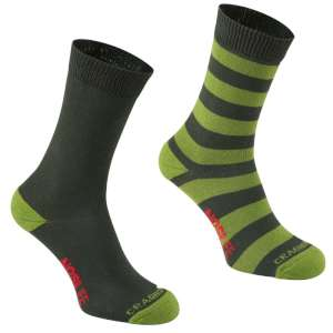 Craghoppers NosiLife Travel Socks Dark