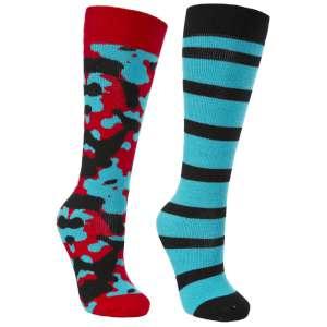 Trespass Kids Diddle Ski Socks 2 Pack
