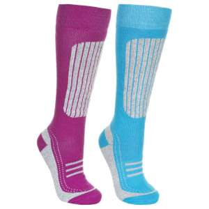 Trespass Womens Janus Ski Socks 2 Pack