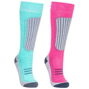 Trespass Womens Janus II Ski Socks 2 P
