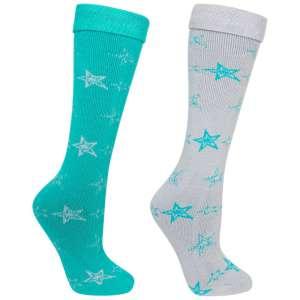 Trespass Womens Luv Ski Tube Socks 2 P