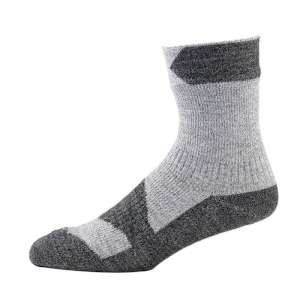 SealSkinz Walking Thin Ankle Sock Grey