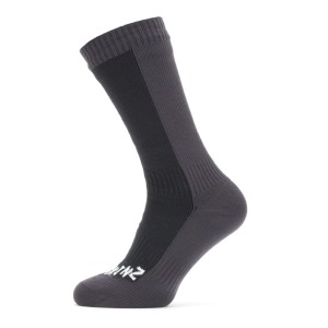 Seal Skinz Thick Mid Length Sock Black