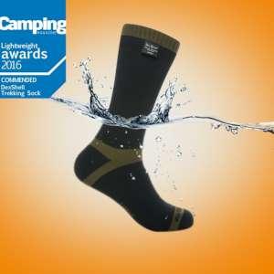 DexShell Trekking Sock WP+B Olive Gree