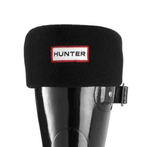 Hunter Short Welly Socks Black