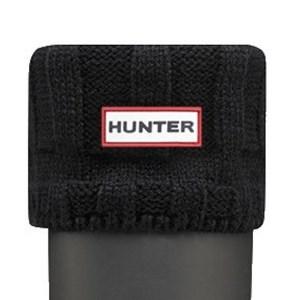 Hunter Guernsey Boot Socks Black