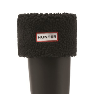 Hunter Sheepy Fleece Cuff Boot Sock Bl