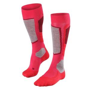 Falke Womens SK2 Ski Socks Red/Plum Pi