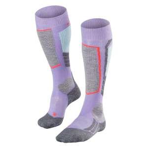 Falke Womens SK2 Ski Socks Lavender