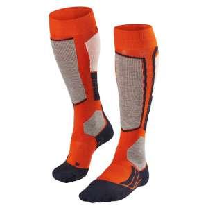 Falke Mens SK2 Ski Socks Red Desert