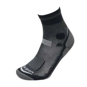 Lorpen T3 Light Hiker Shorty Sock Blac