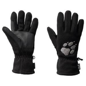 Jack Wolfskin Paw Fleece Gloves Black