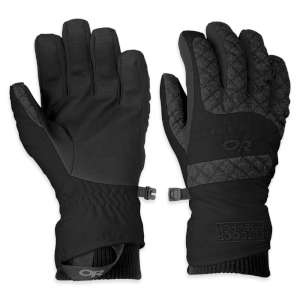 Outdoor Research Womens Riot Glove Bla