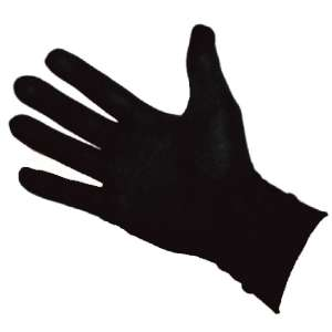 Aquarius Silk Gloves Black