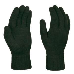 Regatta Thermal Knitted Gloves Olive