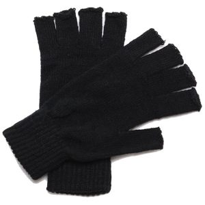 Regatta Thermal Fingerless Mitts Black