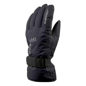 Manbi Women's Glamour Ski Glove Black