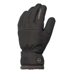 Manbi Mens Outdoor Glove Black/Charcoa