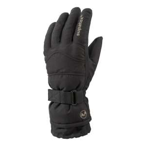 Manbi Women's Carve Ski Gloves Black
