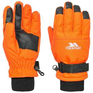 Trespass Kids Ruri II Ski Gloves Hot O