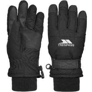Trespass Kids Ruri II Ski Gloves Black