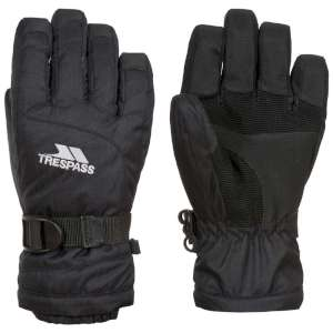 Trespass Simms Kids Ski Gloves Black