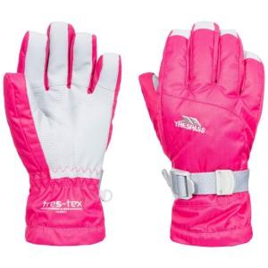 Trespass Simms Kids Ski Gloves Cassis