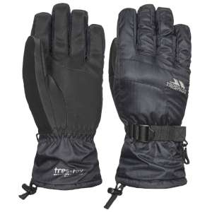 Trespass Womens Embray Ski Gloves Blac