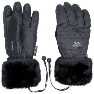 Trespass Womens Adults Gloves Black