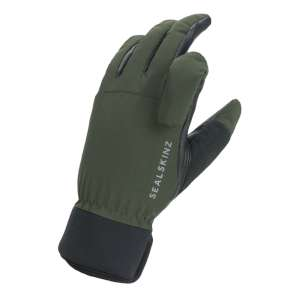 SealSkinz Shooting Glove OliveGreen/Bl