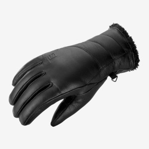 Salomon Womens Native Gloves Black