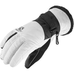 Salomon Womens Force Dry Gloves White/