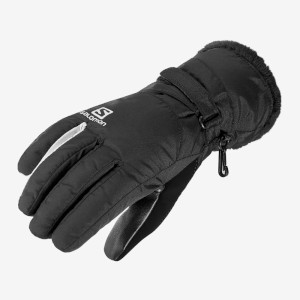 Salomon Womens Force Dry Gloves Black/
