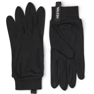 Hestra Silk Touch Point Glove Black