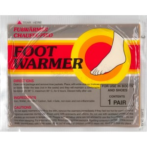 Mycoal Foot Warmers - Pair