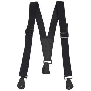 Trespass Ski Pants Braces Black