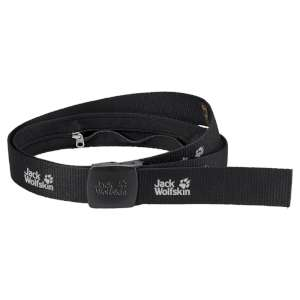 Jack Wolfskin Secret Belt Wide Black