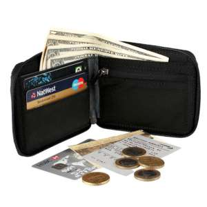 LifeVenture RFiD Pocket Wallet Black