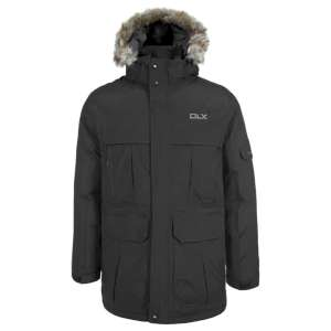 Trespass Higland Down Parka Jacket Bla