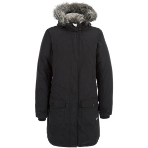 Trespass Women's Glacial Down Coat Bla