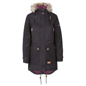 Trespass Womens Clea Parka Jacket Blac