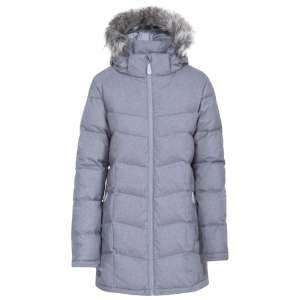 Trespass Womens Reva Down Coat Grey Ma